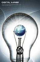 灯泡艺术创意