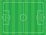 足球场矢量素材