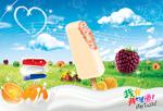 夏季雪糕广告设计