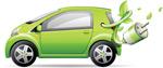 环保小汽车矢量