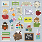 学校学生图标