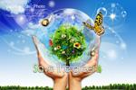 保护绿色地球