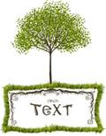 环保树文本框