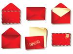 红色信封矢量