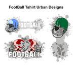 美式足球图案