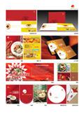 餐饮连锁画册VI