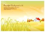 秋季田园稻穗