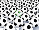 足球矢量素材