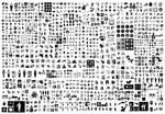 黑白灰图形图案