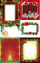 圣诞相框矢量