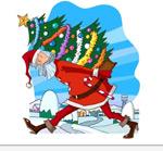 圣诞老人矢量2