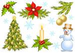 圣诞节装饰品1