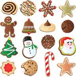 圣诞饰品饼干
