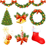 圣诞节装饰物品