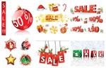 圣诞节销售装饰