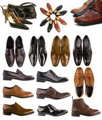 男士皮鞋与香包