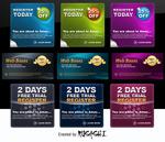 WEB商业优惠卡