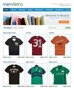 衣服专卖网站模板