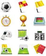 足球比赛主题图标