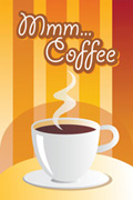 咖啡POP海报