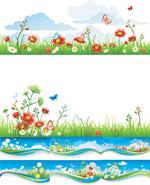 春季横幅背景