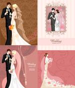 浪漫婚礼卡片