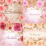 春季炫彩花朵