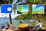 海滨旅游风景