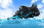 夏季透气鞋海报
