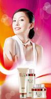 丝胶化妆品展架