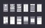 苹果手机线框图