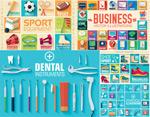 牙科医疗图标