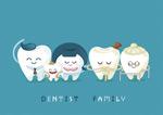 动漫牙齿家庭