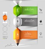 铅笔卷纸设计