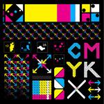 CMYK箭头图标