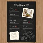 餐厅菜单菜谱