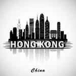 香港建筑群剪影
