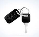 黑色车钥匙