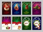 圣诞炫彩卡片