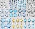 透明水滴雨滴