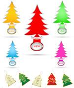 圣诞节主题吊牌