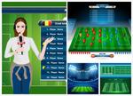 足球游戏界面