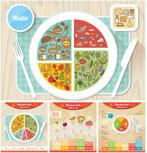 健康饮食分析图表