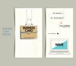商务卡片设计矢量