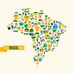 巴西奥运会地图