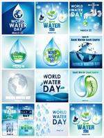 地球与水滴元素