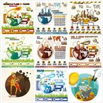 环境环保信息图表