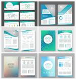 商务画册单页