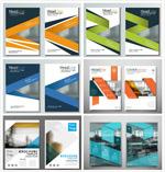 商务画册设计矢量