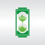 绿色环保电池图标